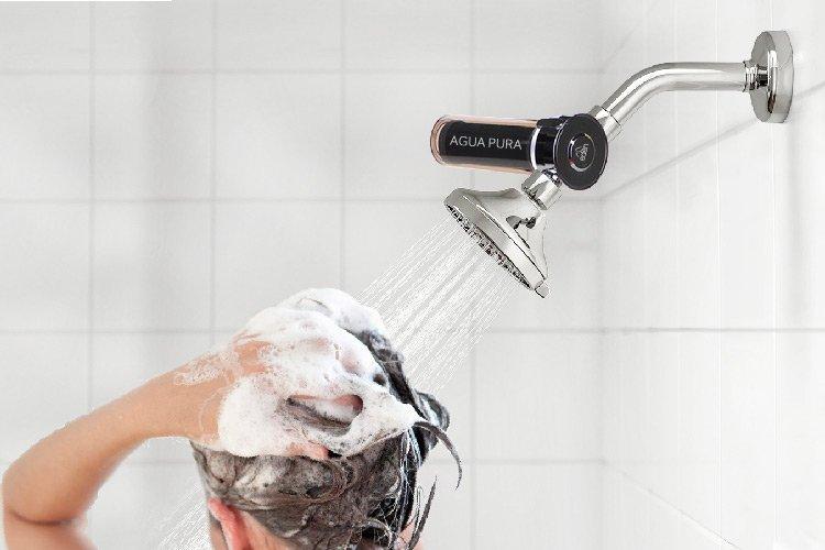 filtro para ducha vitamax elimina el cloro y bacterias en el agua