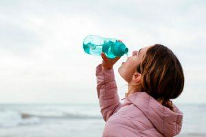 hidratación en invierno importante para la salud