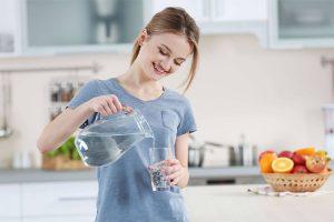 Ayuno con agua purificada